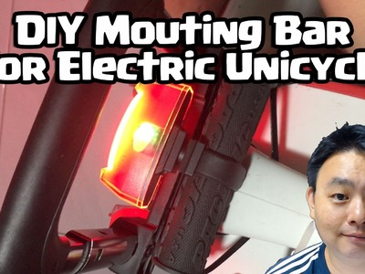 DIY Mounting Bar for Electric Unicycle