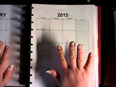 DIY PLANNER ---- Erin Condren Style Pages