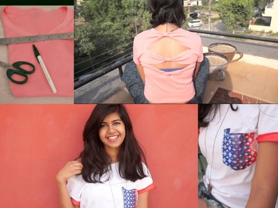 DIY: Recycle your Old T-shirts! + How I style them! :D