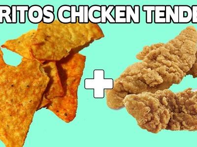 Doritos Crunchy Chicken Tenders Recipe - Food Mashups