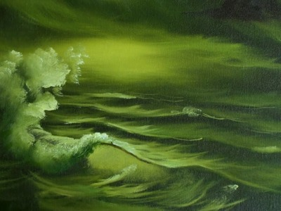 Green Sea - Painting Lesson