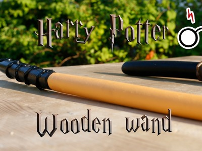 Harry Potter wooden wand tutorial!