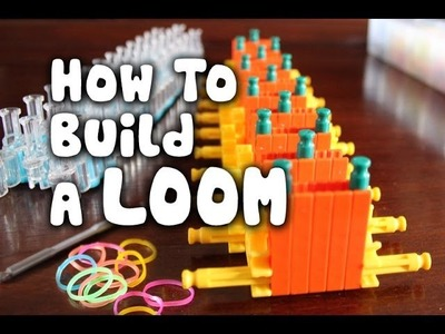 How to Build Rainbow Loom using K'Nex - Step by Step Tutorial Instructions
