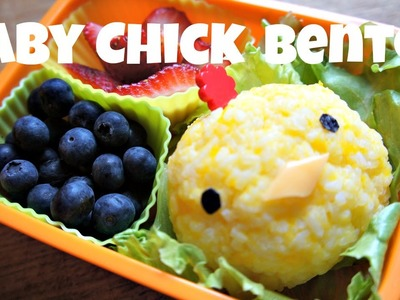 How to Make a Cute Chick Bento