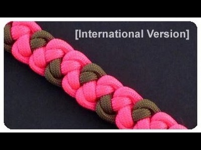 How to Make a Wind Temple Bar (Paracord) Bracelet by TIAT