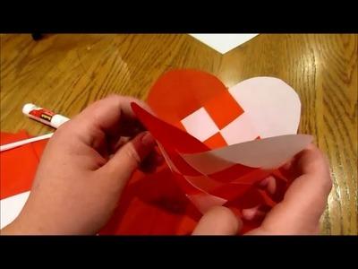 How to Make Julehjerter - woven Danish Christmas hearts (ornament baskets)