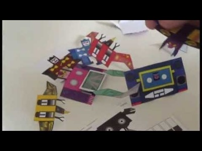 How To Make Paper Transformers: Soundwave And Cassette Army