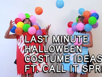 Last Minute Halloween Costume Ideas ft. Call It Spring | Kastor & Pollux