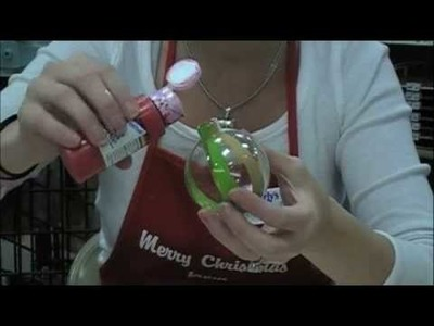Marbled Holiday Ornaments | Beverly's How-To