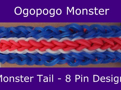 Monster Tail® Ogopogo Bracelet by Rainbow Loom