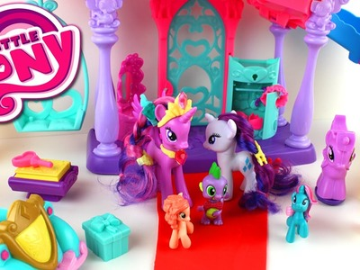 My Little Pony Friendship Rainbow Kingdom Play-Doh Twilight Sparkle Princess Celebration Cars Set