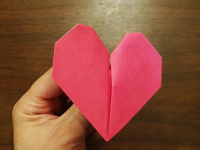 Origami beating heart HD