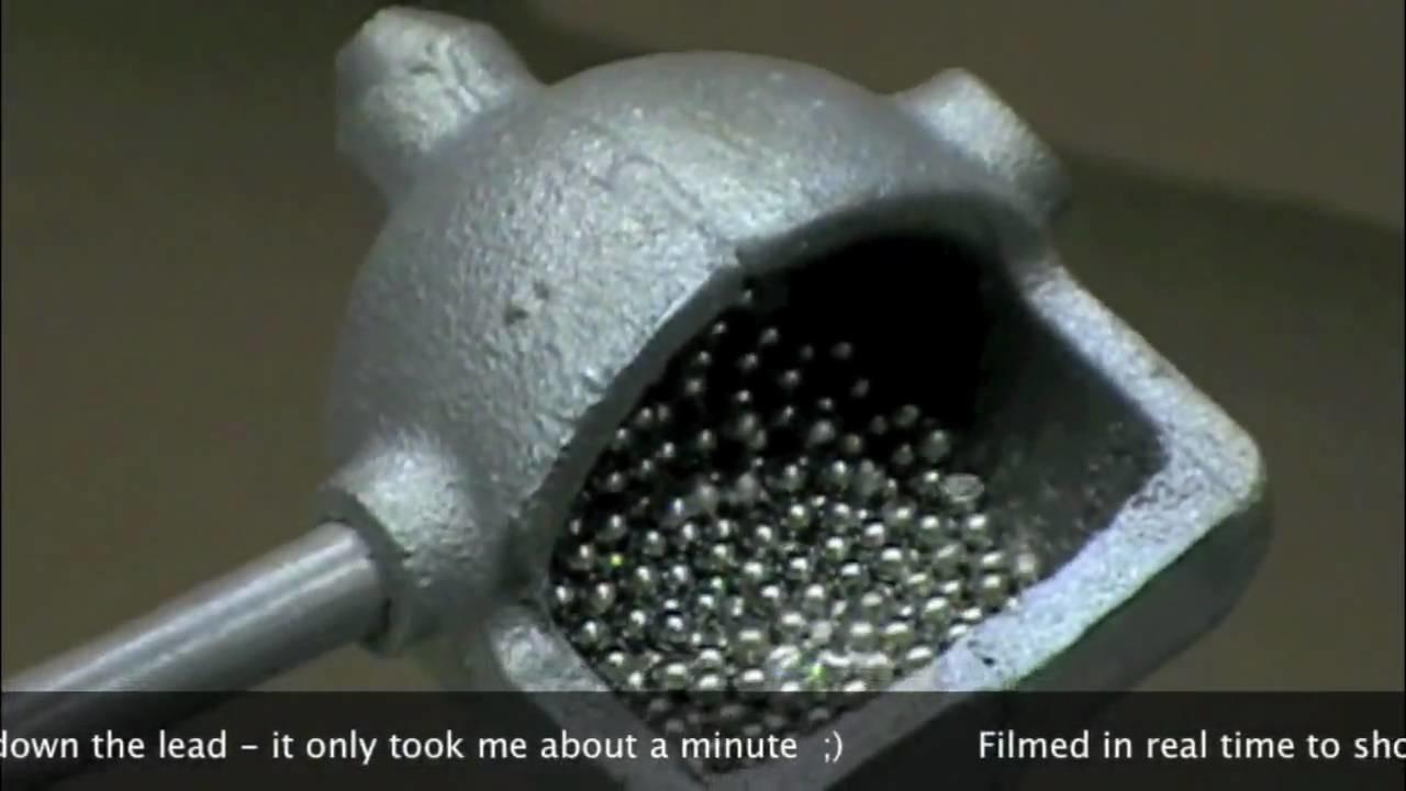 Part 2.4 Bird shot to 1 ounce Slug Modification = DIY Home Made Slugs P1