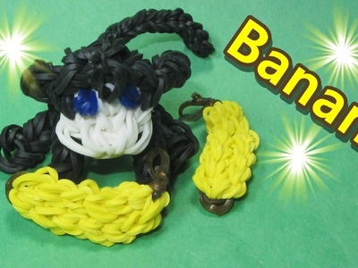 Rainbow Loom Charms: Banana (with the Monkey Charm): How To Design (DIY Mommy)