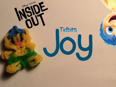 Rainbow Loom Joy Charm.Figure | Inside Out [Tidbits Series]