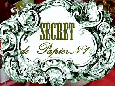 Secret de papier n°1 - colle et journaux - (papier mâché)