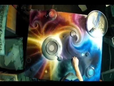Spray Painting Art GoPro Hero 2 Breaking The Dawn by Matt Sorensen