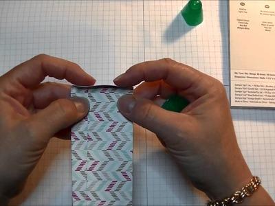 Stampin' Up! DIY Gusseted Treat Bag