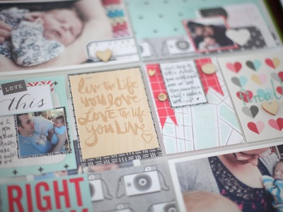 Starting a Baby Book with Project Life