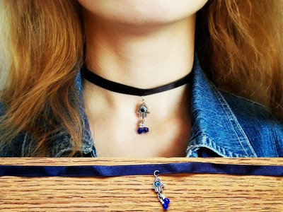 Choker Necklace | DIY CHOKER! :)