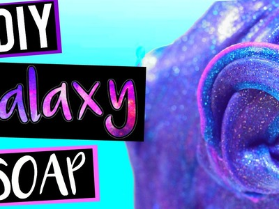 DIY Squishy Galaxy Soap! Make Galaxy Flubber Soap!