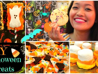 Easy & Yummy DIY Halloween Treats!!