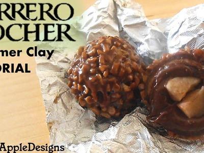 Polymer Clay Ferrero Rocher Tutorial