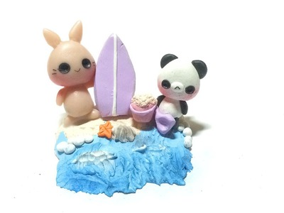 Tutorial : Polymer Clay Panda