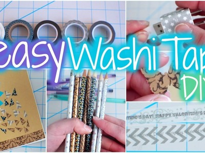 9 Easy Washi Tape DIY's