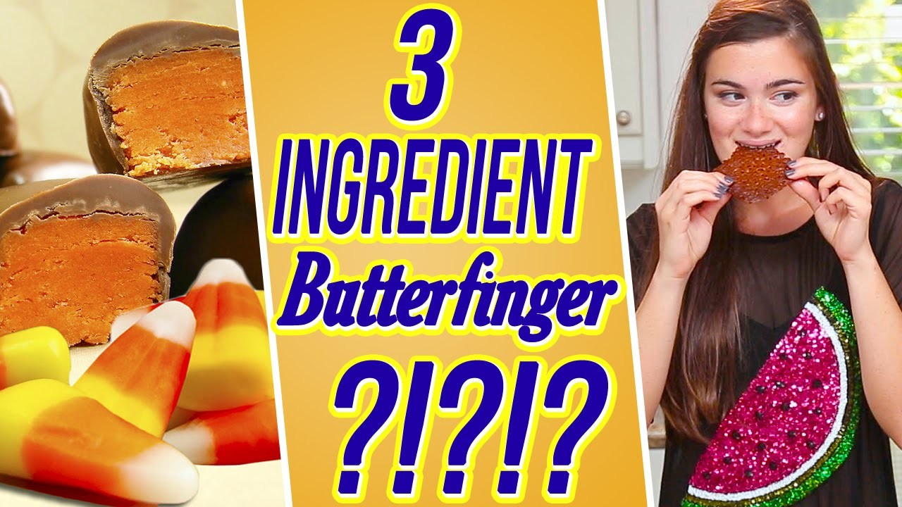 DIY Butterfinger With Candy Corn?! 3 Items Or Less