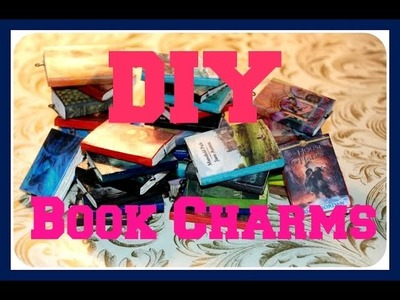 DIY Book Charms in 5 steps