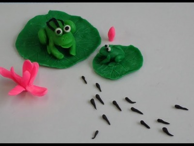 Play Dough Creations: Frog Prince Before Turning Prince -- Craft