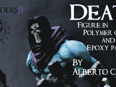 Darksiders 2 : Death Figure -polymer clay and epoxy paste