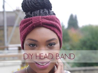 DIY Head Band Using An Old Sock!