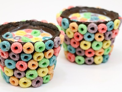 DIY-How To Make Rainbow Oreo Chocolate Cups-COOKING TOYS