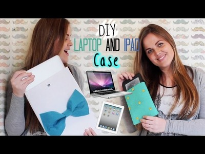 DIY Laptop & Ipad Case (Last Minute Valentine's Gift Idea) - DIY Capa Para Notebook