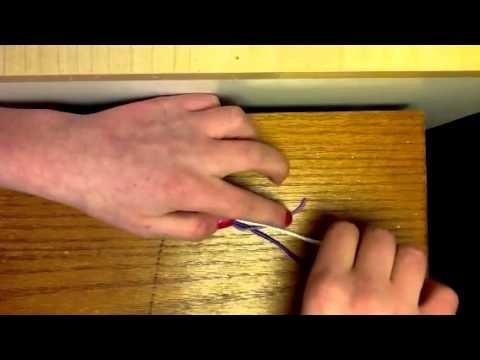 Polymer clay recycled braid twist thing