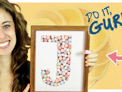 Candy Monogram - Do It, Gurl