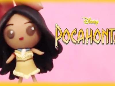 Disney Pocahontas Princess Chibi Clay Tutorial