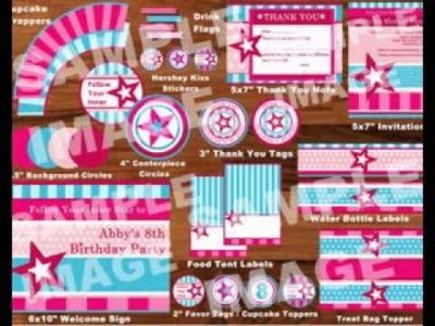 DIY American girl birthday party decorating ideas