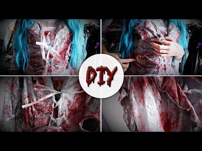 DIY ☠ Bloody Halloween Dress
