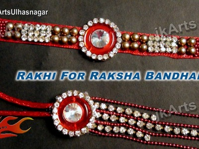 DIY  Diamond Lumba Rakhi for Raksha Bandhan | How to make |  JK Arts 613