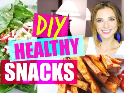 DIY Healthy Snack Ideas for After School (or Hangry)