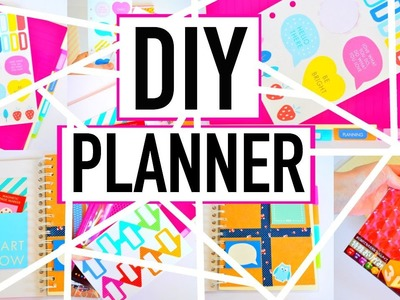 DIY: Planner on a Budget | Organization BACK TO SCHOOL 2015