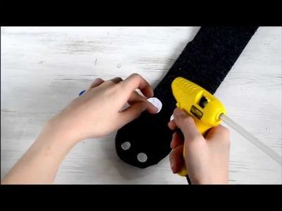 DIY sock horse puppet