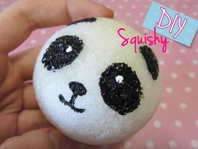 DIY Squishy Panda, handmade