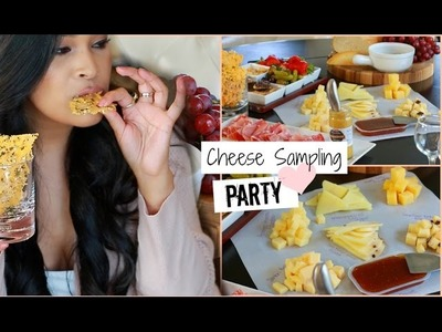 DIY Wine & Cheese Sampling Party - Pinterest Inspired DIY Foods - MissLizHeart