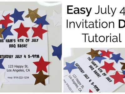 Easy July 4th Invitation Ideas: Plan, Prep, Party Collaboration