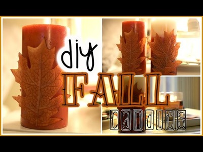 FALLING INTO FALL: DIY FALL CANDLES | AllThatJazz