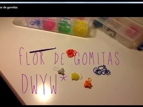 Flor de gomitas - Manualidades de gomitas (Banditas) | Do What You Want*